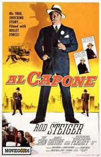 Al Capone - 43 x 62 Movie Poster - Bus Shelter Style A