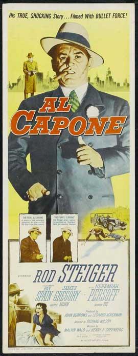 Al Capone - 14 x 36 Movie Poster - Insert Style A