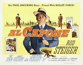 Al Capone - 22 x 28 Movie Poster - Half Sheet Style B