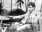 Al Pacino - Al Pacino in Formal Outfit With Pistol Black and White