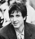 Al Pacino - Al Pacino smiling, wearing Formal Outfit Black and White Portrait
