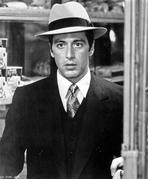 Al Pacino - Al Pacino Looking Shocked in Formal Outfit Black and White