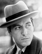 Al Pacino - Al Pacino Facing Left wearing a Hat Close Up Portrait