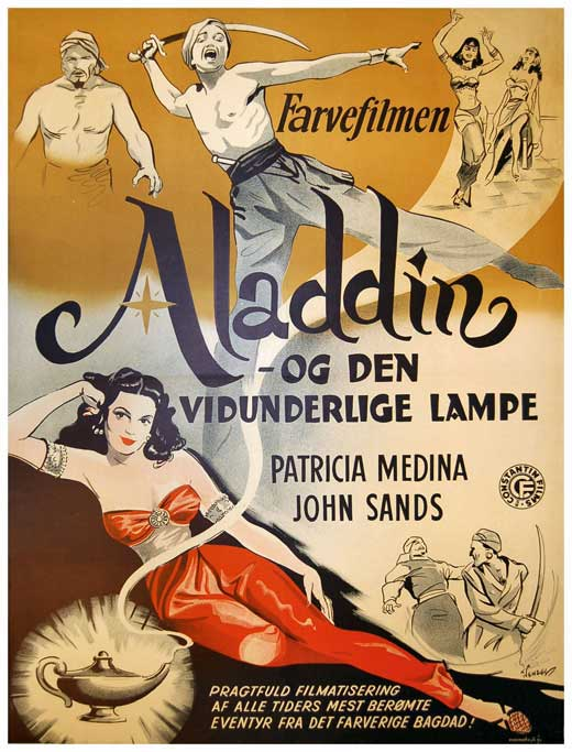 Aladdin and his Lamp Movie Posters From Movie Poster Shop