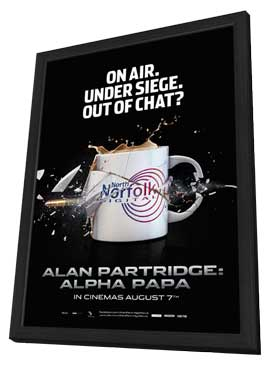 Alan Partridge - 11 x 17 Movie Poster - Style A - in Deluxe Wood Frame
