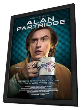 Alan Partridge - 11 x 17 Movie Poster - Style B - in Deluxe Wood Frame