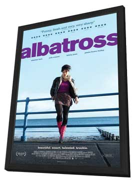 Albatross - 11 x 17 Movie Poster - UK Style A - in Deluxe Wood Frame