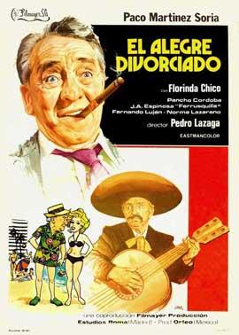Alegre divorciado, El - 11 x 17 Movie Poster - Spanish Style A