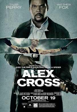 Alex Cross - 11 x 17 Movie Poster - Style B