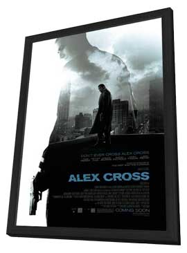 Alex Cross - 27 x 40 Movie Poster - Style A - in Deluxe Wood Frame