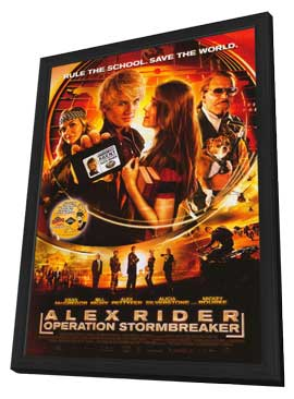 Alex Rider: Operation Stormbreaker - 11 x 17 Movie Poster - Style A - in Deluxe Wood Frame