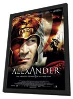 Alexander - 11 x 17 Movie Poster - Style C - in Deluxe Wood Frame