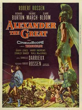 alexander the great movie poster