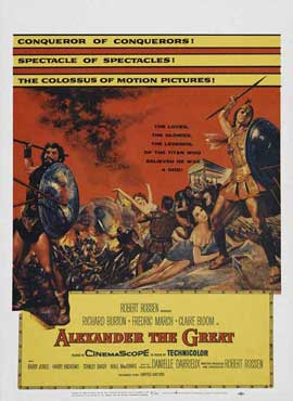 Alexander the Great - 11 x 17 Movie Poster - Style C