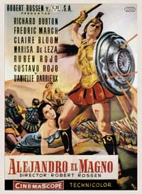 Alexander the Great - 27 x 40 Movie Poster - Spanish Style A