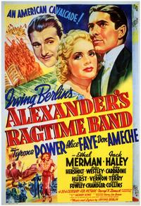 Alexander's Ragtime Band - 11 x 17 Movie Poster - Style A