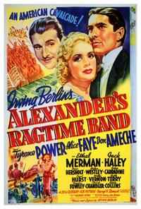 Alexander's Ragtime Band - 27 x 40 Movie Poster - Style A