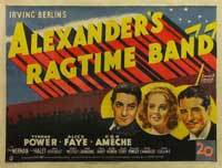 Alexander's Ragtime Band - 11 x 17 Movie Poster - Style B