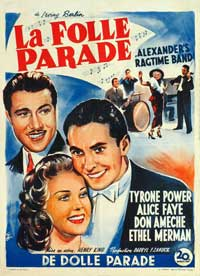 Alexander's Ragtime Band - 27 x 40 Movie Poster - French Style A
