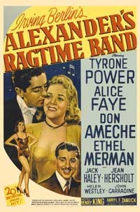 Alexander's Ragtime Band - 27 x 40 Movie Poster - Style B