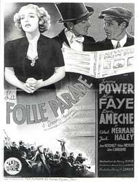 Alexander's Ragtime Band - 11 x 17 Movie Poster - French Style C