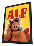 ALF - 11 x 17 Movie Poster - Style A - in Deluxe Wood Frame