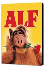 ALF - 11 x 17 Movie Poster - Style A - Museum Wrapped Canvas
