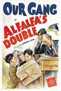 Alfalfa's Double - 43 x 62 Movie Poster - Bus Shelter Style A