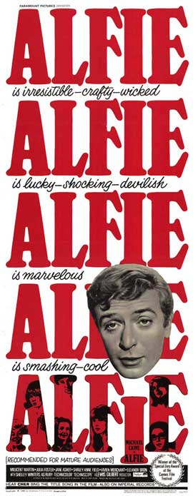 Alfie - 14 x 36 Movie Poster - Insert Style A