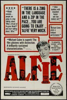 Alfie - 27 x 40 Movie Poster - Style C