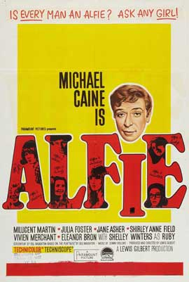 Alfie - 27 x 40 Movie Poster - Style E