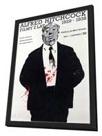 Alfred Hitchcock Film Festival - 11 x 17 Movie Poster - Style A - in Deluxe Wood Frame