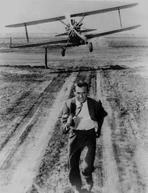 Alfred Hitchcock - North By Northwest Running Scene in Black and White