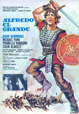Alfred the Great - 11 x 17 Movie Poster - Spanish Style A