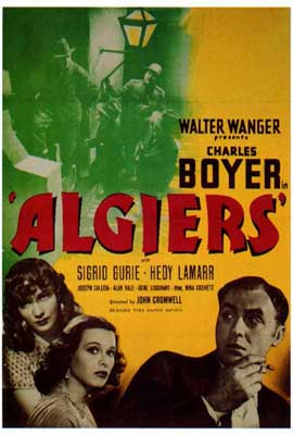 Algiers - 27 x 40 Movie Poster - Style A