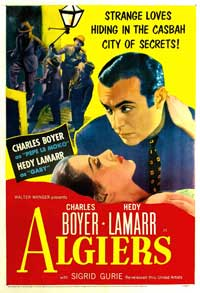 Algiers - 11 x 17 Movie Poster - Style B