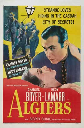 Algiers - 27 x 40 Movie Poster - Style B