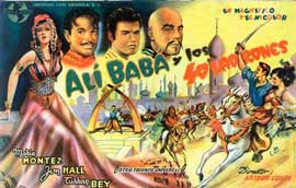Ali Baba and the Forty Thieves - 11 x 17 Movie Poster - Spanish Style C