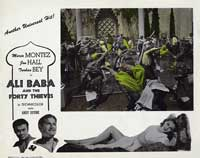 Ali Baba and the Forty Thieves - 11 x 14 Movie Poster - Style C