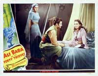Ali Baba and the Forty Thieves - 11 x 14 Movie Poster - Style G