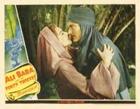 Ali Baba and the Forty Thieves - 11 x 14 Movie Poster - Style L