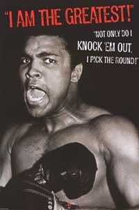 Muhammad Ali - Sports Poster - 24 x 36 - Style F