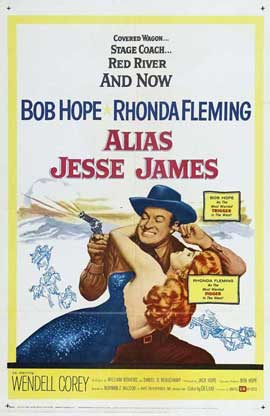 Alias Jesse James - 11 x 17 Movie Poster - Style A