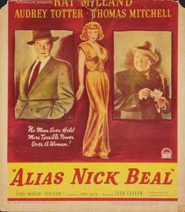 Alias Nick Beal - 11 x 17 Movie Poster - Style B
