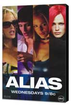 Alias (TV) - 11 x 17 TV Poster - Style E - Museum Wrapped Canvas