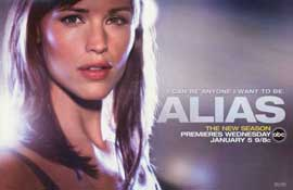 Alias (TV) - 11 x 17 TV Poster - Style A