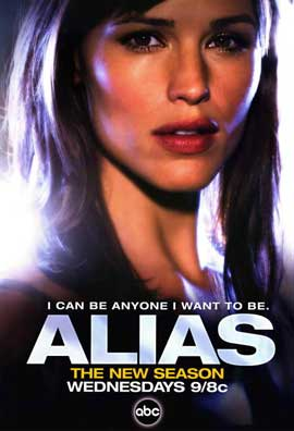 Alias (TV) - 11 x 17 TV Poster - Style B