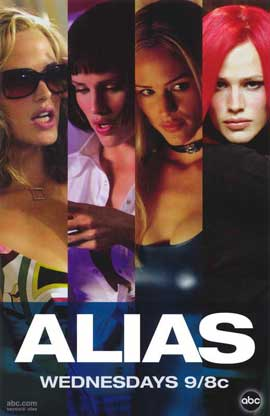 Alias (TV) - 11 x 17 TV Poster - Style E