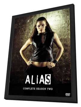 Alias (TV) - 27 x 40 TV Poster - Style I - in Deluxe Wood Frame