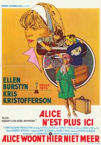 Alice Doesn't Live Here Anymore - 11 x 17 Movie Poster - Belgian Style A